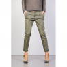 MANILA GRACE pantalone chinos a righe
