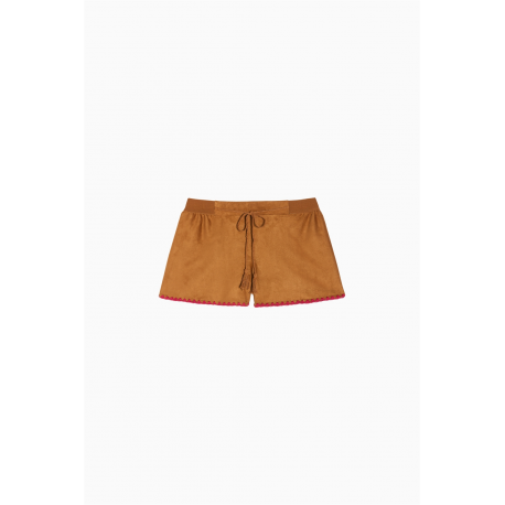 TWIN SET shorts scamosciato