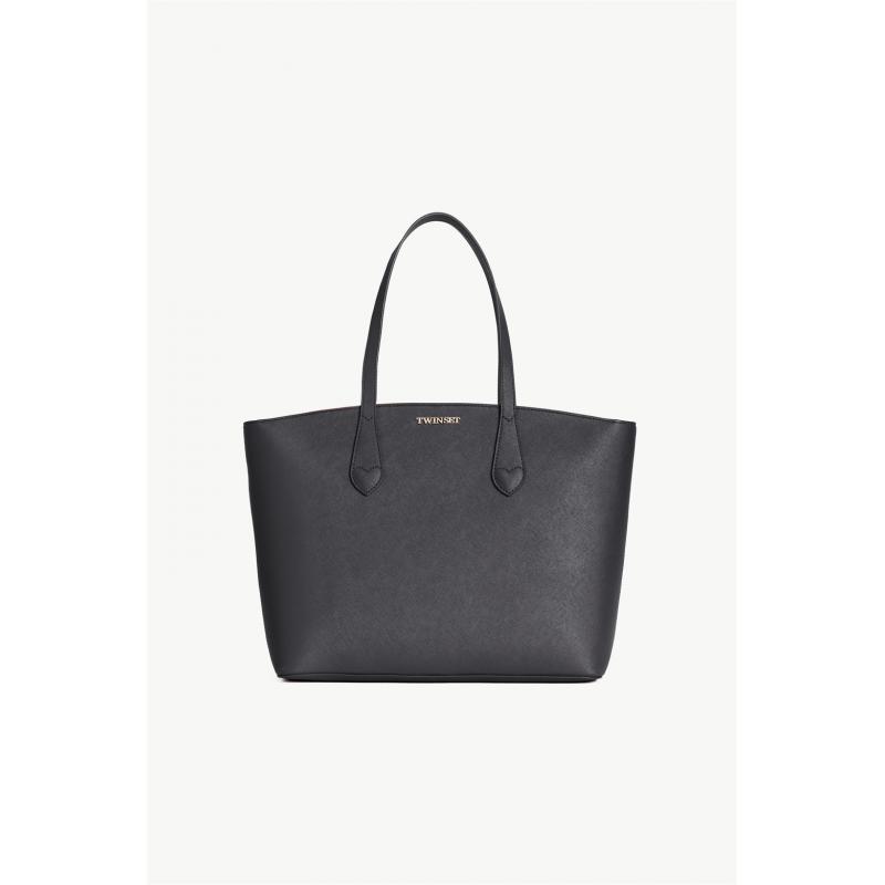 TWIN SET borsa pelle Twin Set: Marica Impronta Shop Online Abbigl