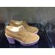 PALOMITAS scarpa lacci tabacco/viola