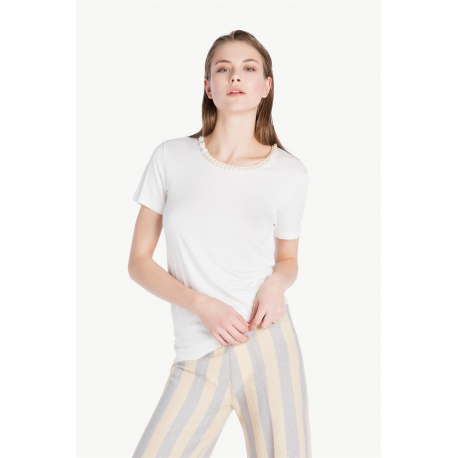 TWIN SET t-shirt ricamo