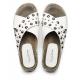 MANILA GRACE sandalo decorato con borchie