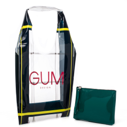 GUM shopper trasparente LIMITED EDITION
