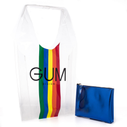 GUM shopper trasparente LIMITED EDITION