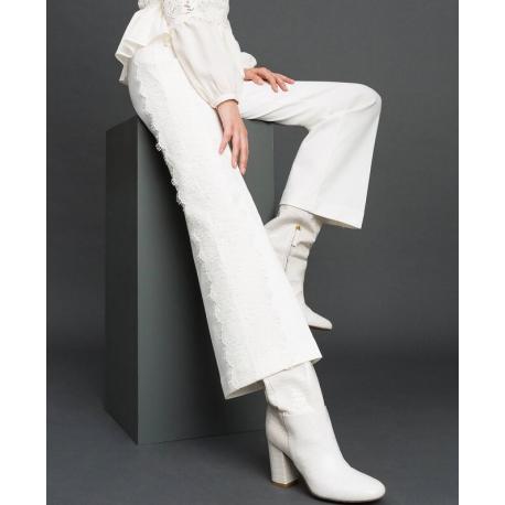 lowest price 8a228 097f5 TWIN SET pantalone pizzo Twin Set: Marica Impronta Shop Online - Ab...