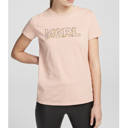 KARL LAGERFELD t-shirt doppio logo