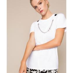 TWIN SET t-shirt con collana