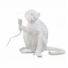 SELETTI lampada da tavolo Monkey