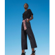 TWIN SET pantalone con cintura multicolor