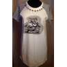 TWIN SET T shirt bianca/righe
