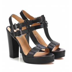 CARMENS sandalo pelle nero