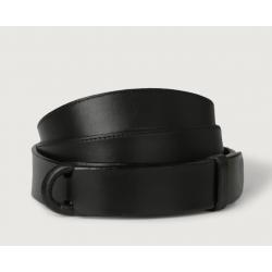 ORCIANI cintura nobuckle nera
