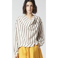 MANILA GRACE blusa incrociata