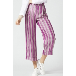 MANILA GRACE pantalone righe