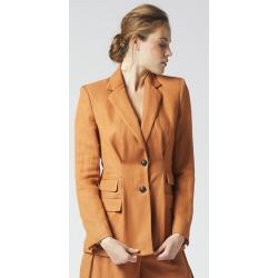 MANILA GRACE giacca con pieghe