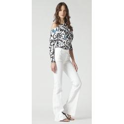 MANILA GRACE pantalone zampa