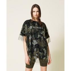 TWIN SET t-shirt camouflage